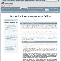 Apprendre à programmer avec Python - Club des décideurs et profe