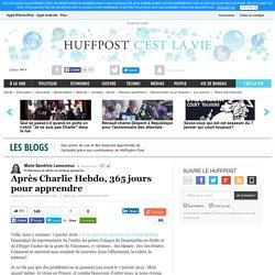 Après Charlie Hebdo, 365 jours pour apprendre