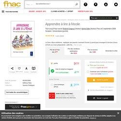 Apprendre à lire à l'école - poche - Roland Goigoux, Sylvie Cèbe - Achat Livre ou ebook - Fnac.com