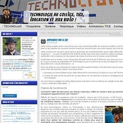 Apprendre par le jeu » Technologie collège, TICE, jeux vidéo et éducation
