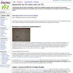 Apprendre les TIC et/ou avec les TIC