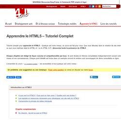 Apprendre le HTML5 – Tutoriel Complet