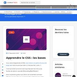 Apprendre le CSS: les bases — Tutoriels CMS, par Codeur.com