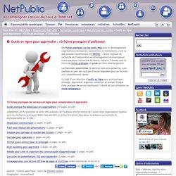Outils en ligne pour apprendre : 10 fiches pratiques d'utilisation