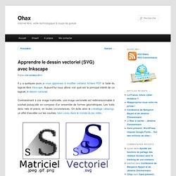 Apprendre le dessin vectoriel (SVG) avec Inkscape