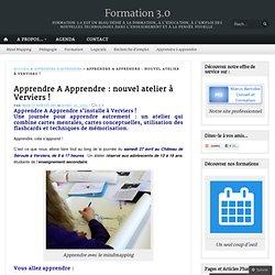 Apprendre A Apprendre : nouvel atelier à Verviers !