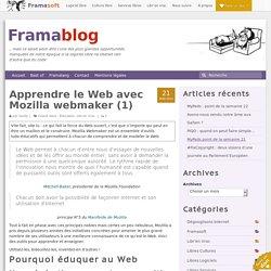 Apprendre le Web avec Mozilla webmaker (1)