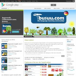 Learn German with busuu.com! - Android Apps on Google Play