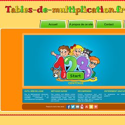 Apprends les tables de multiplication
