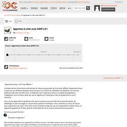 Apprenez à créer avec GIMP 2.6 !