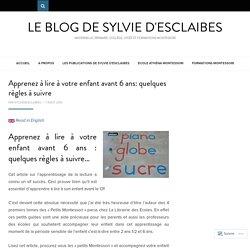 Lycée International Montessori – Ecole Athéna – Le blog de Sylvie d'Esclaibes.