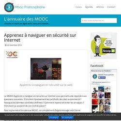 MOOC Apprenez à naviguer en sécurité sur Internet