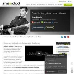 Apprenez Les techniques de Slap Guitare Basse avec ce cours de Jean Bisello