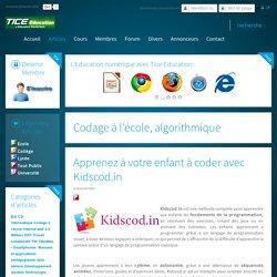 Apprenez à votre enfant à coder avec Kidscod.in