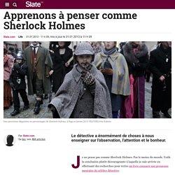 Apprenons à penser comme Sherlock Holmes