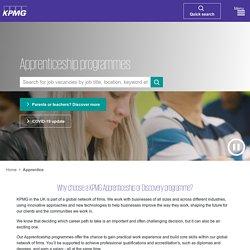 KPMG - Apprentice