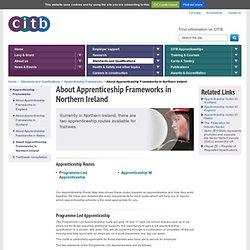 About Apprenticeship Frameworks in Northern Ireland - CITB