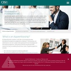 Apprenticeships - Finance sector