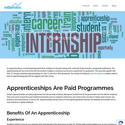Search Jobs for Students & Apprenticeships Using miService
