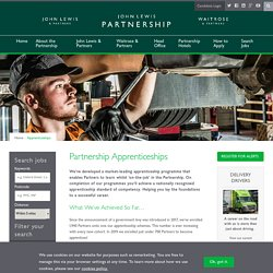 John Lewis Partnership - Careers/Apprenticeships