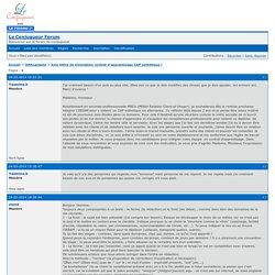 Avis lettre de motivation contrat d'apprentisage CAP esthétique ! / Orthographe / Le Conjugueur Forum