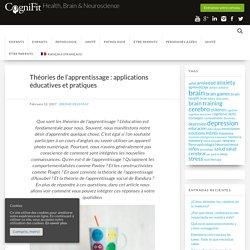 Théories de l'apprentissage : applications éducatives et pratiques
