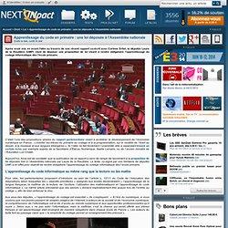 Apprentissage du code en primaire : une loi déposée à l'Assemblée nationale