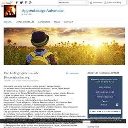 Apprentissage Autonome - Se rendre libre