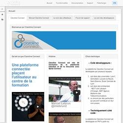 Consortium Claroline - Claroline est un logiciel Open Source permettant de déployer facilement une plateforme dédiée à l'apprentissage et au travail collaboratif en ligne - Accueil