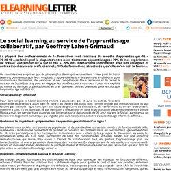 Le social learning au service de l'apprentissage collaboratif, par Geoffroy Lahon-Grimaud