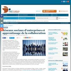 Réseaux sociaux d'entreprises et apprentissage de la collaboration