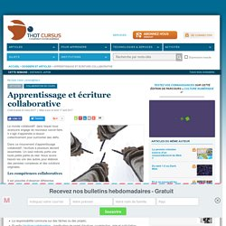 Apprentissage et écriture collaborative