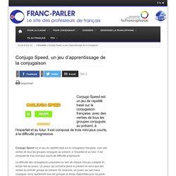 Conjugo Speed, un jeu d'apprentissage de la conjugaison
