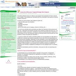 3 jeux de rôles pour l'apprentissage des langues- Pédagogie - Direction des services départementaux de l'éducation nationale du 17
