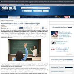 Apprentissage du code à l'école : la France tente le pari
