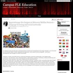 Apprentissage des langues et Réseaux Sociaux - Language learning and social networks
