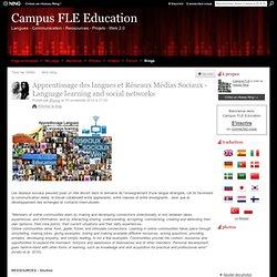 Apprentissage des langues et Réseaux Médias Sociaux - Language learning and social networks