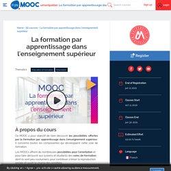 MOOC : La formation par apprentissage dans l'enseignement supérieur (fin d'inscription 11 juillet 2021)