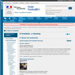 Apprentissage mixte - Blended learning - Formation hybride