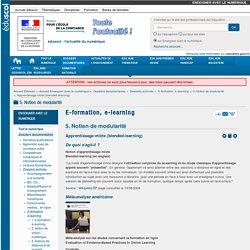 Apprentissage mixte (blended learning) — Enseigner avec le numérique