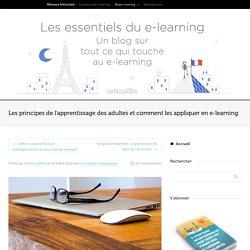 Les principes de l'apprentissage des adultes et comment les appliquer en e-learning