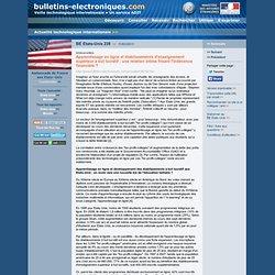 03/11> BE Etats-Unis239> Apprentissage en ligne et établissements d'enseignement supérieur à but lucratif : une relation intime frisant l'indécence financière ?