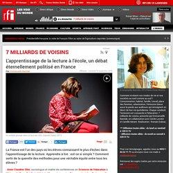 L'apprentissage de la lecture à l'école, un débat éternellement politisé en France