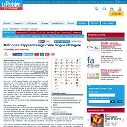 Méthodes d'apprentissage d'une langue étrangère - étranger - Formation - Orientation