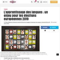 L'apprentissage des langues: un enjeu pour les élections européennes 2019