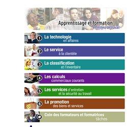 Apprentissage et formation en milieu de travail