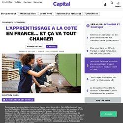 L'apprentissage a la cote en France... et ça va tout changer