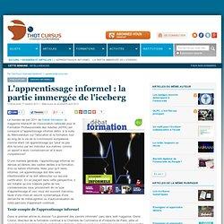L'apprentissage informel : la partie immergée de l'iceberg