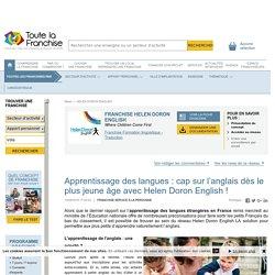 Apprentissage des langues : cap sur l'anglais dès le plus jeune âge avec Helen Doron English !