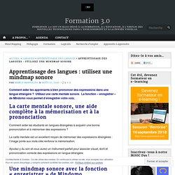 Apprentissage des langues : utilisez une mindmap sonore – Formation 3.0